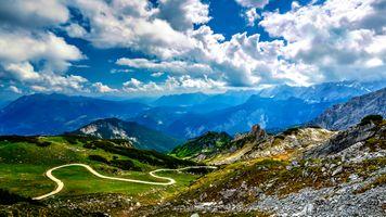 Бесплатные фото Garmisch-Partenkirchen,Osterfelderkopf,Alpen,Bavaria,Germany