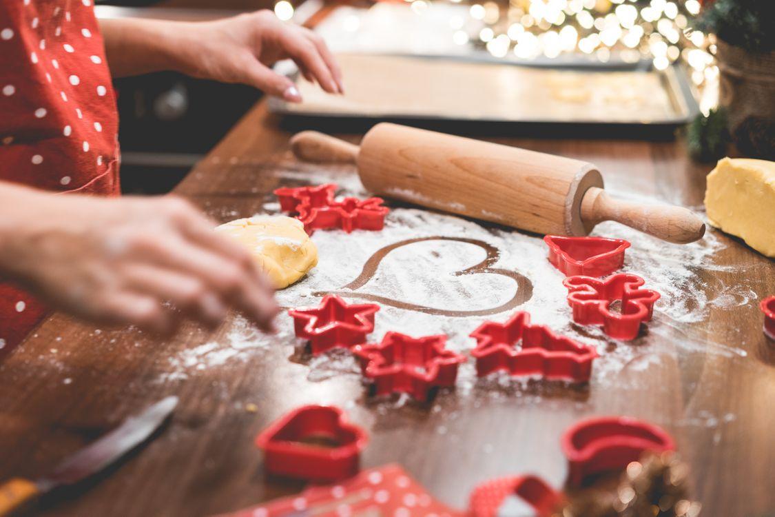 Фото бесплатно праздник, рождество, формочки - на рабочий стол