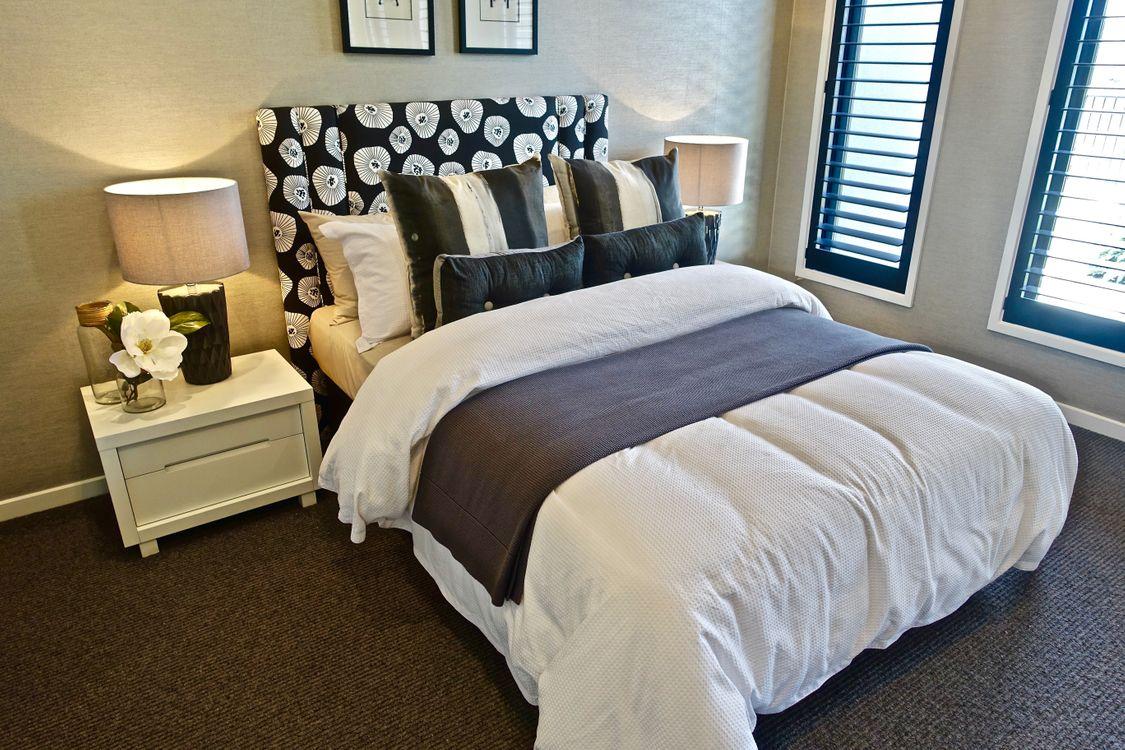 Фото бесплатно современный дизайн, Спальня, подушки - на рабочий стол