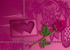 Фото бесплатно Валентина, люблю тебя, роза
