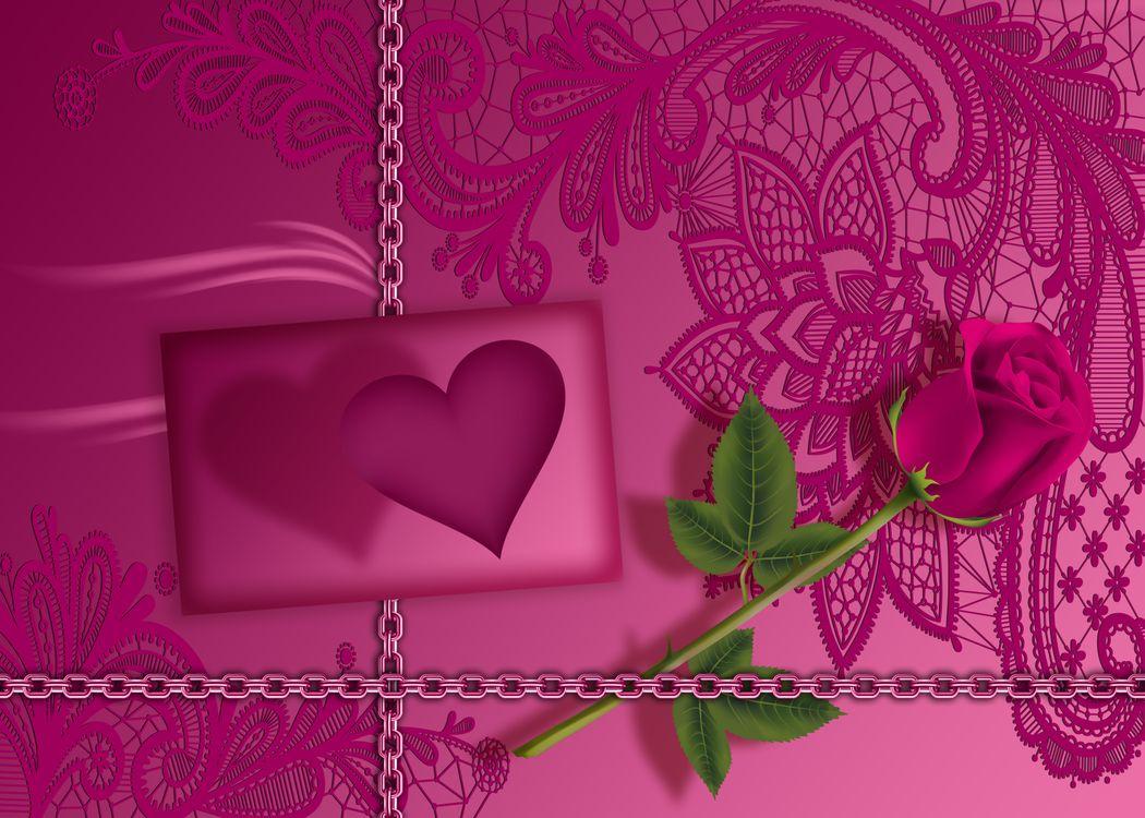 Фото бесплатно Валентина, люблю тебя, роза - на рабочий стол