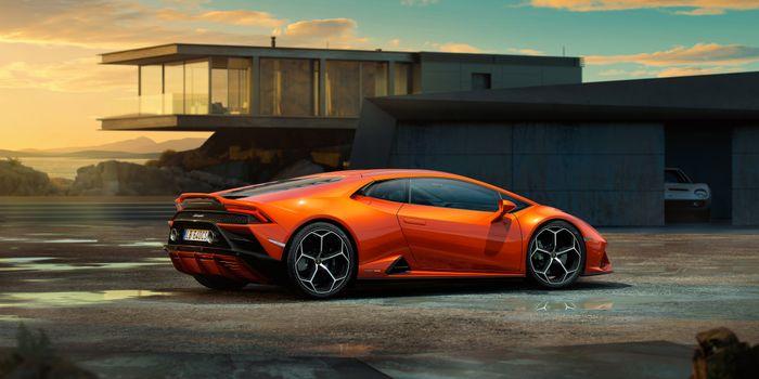 Photo free Lamborghini Huracan Evo, Cars, Lamborghini