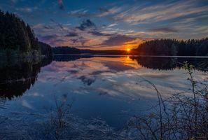 Photo free Sarpsborg, Norway, sunset