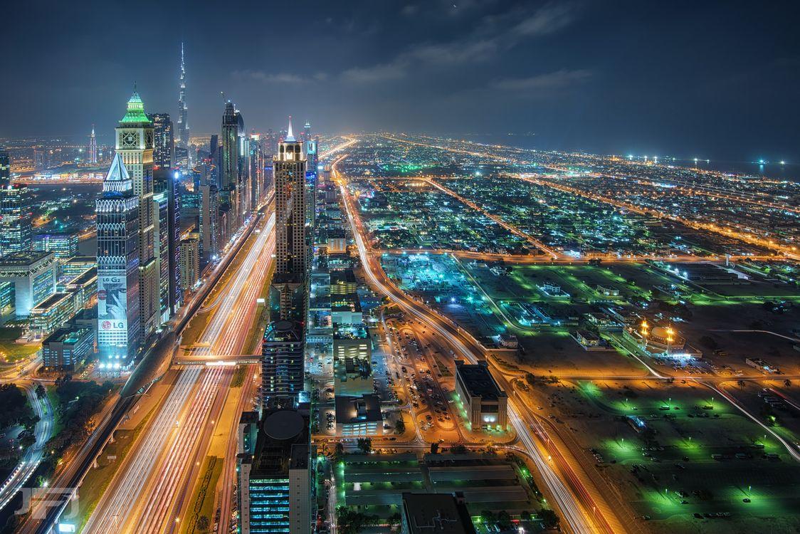 Фото бесплатно дорога, ночь, архитектура - на рабочий стол