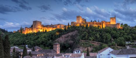 Фото бесплатно Alhambra Twilight, Granda, Spain