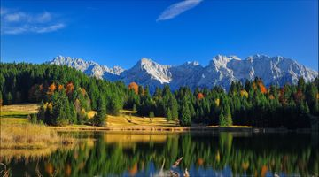 Фото бесплатно Озеро Герольдзее, Германия, Geroldsee
