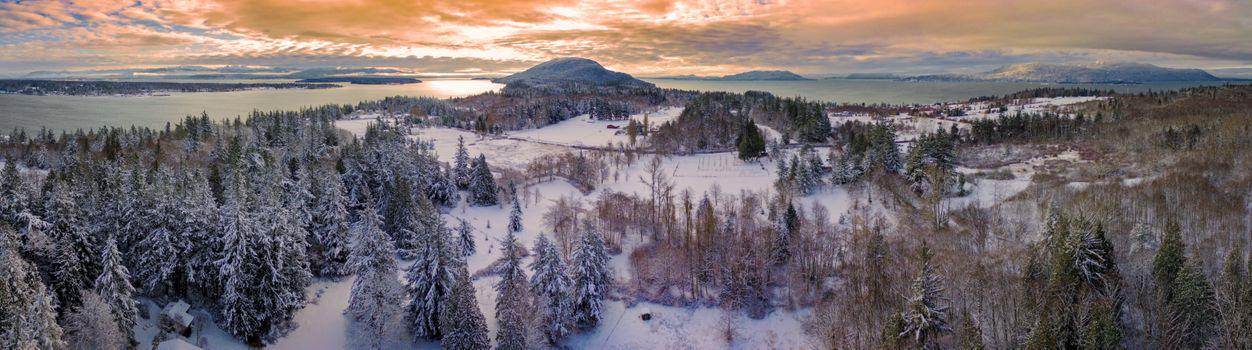 Фото бесплатно Lummi Island, Washington, зима