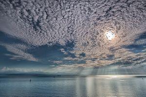 Заставки Пролив Хуан де Фука, Парусный спорт на Серебряном море, остров Уидби