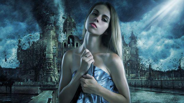 Photo free woman, beautiful, fantasy