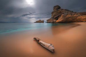 Бесплатные фото закат,море,берег,пляж,скалы,пейзаж