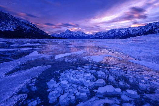 Заставки Abraham Lake, Banff National Park, Канада