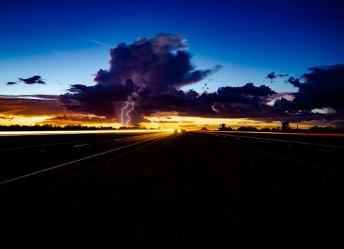 Фото бесплатно творческий, закат, штат Аризона