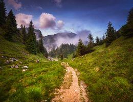 Фото бесплатно горы, холмы, тропинка