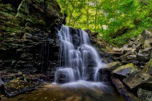 Заставки пейзаж, природа, течение воды