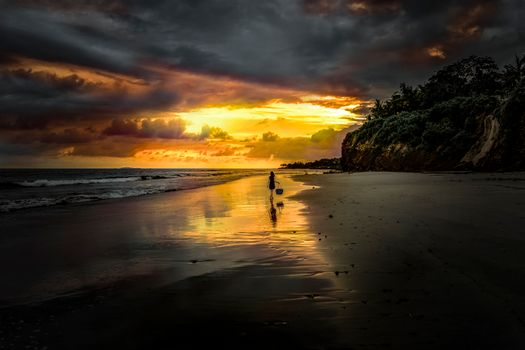 Фото бесплатно пейзаж, пляж, небо