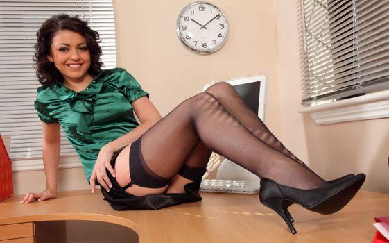 Photo free Bryoni-Kate Williams Stockings Legs Secretaries Girls