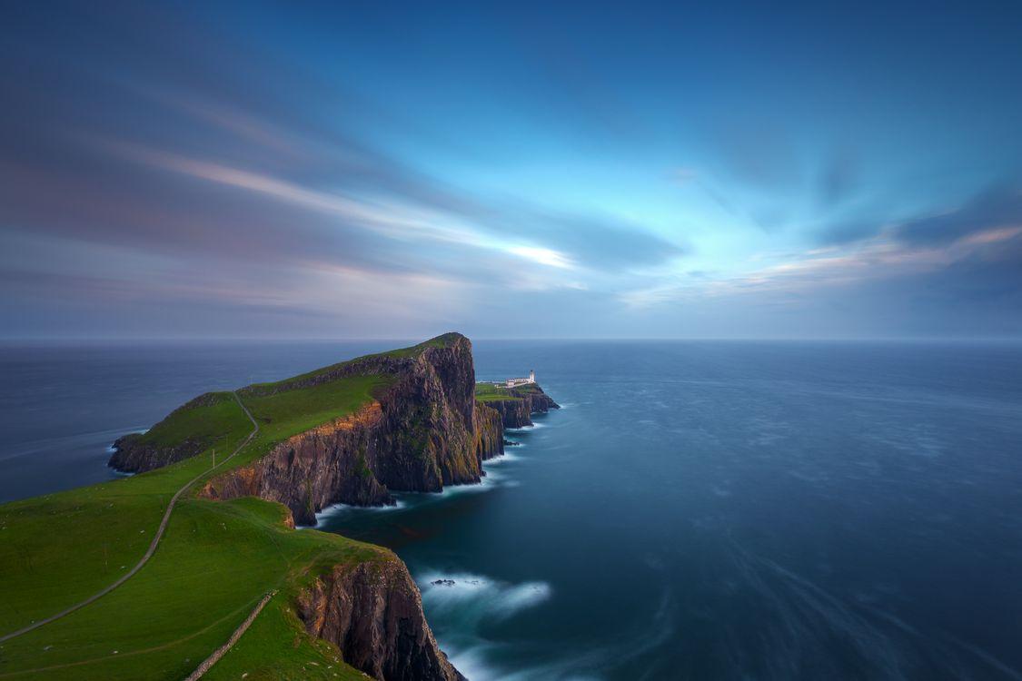 Фото бесплатно пейзаж, рассвет, море - на рабочий стол