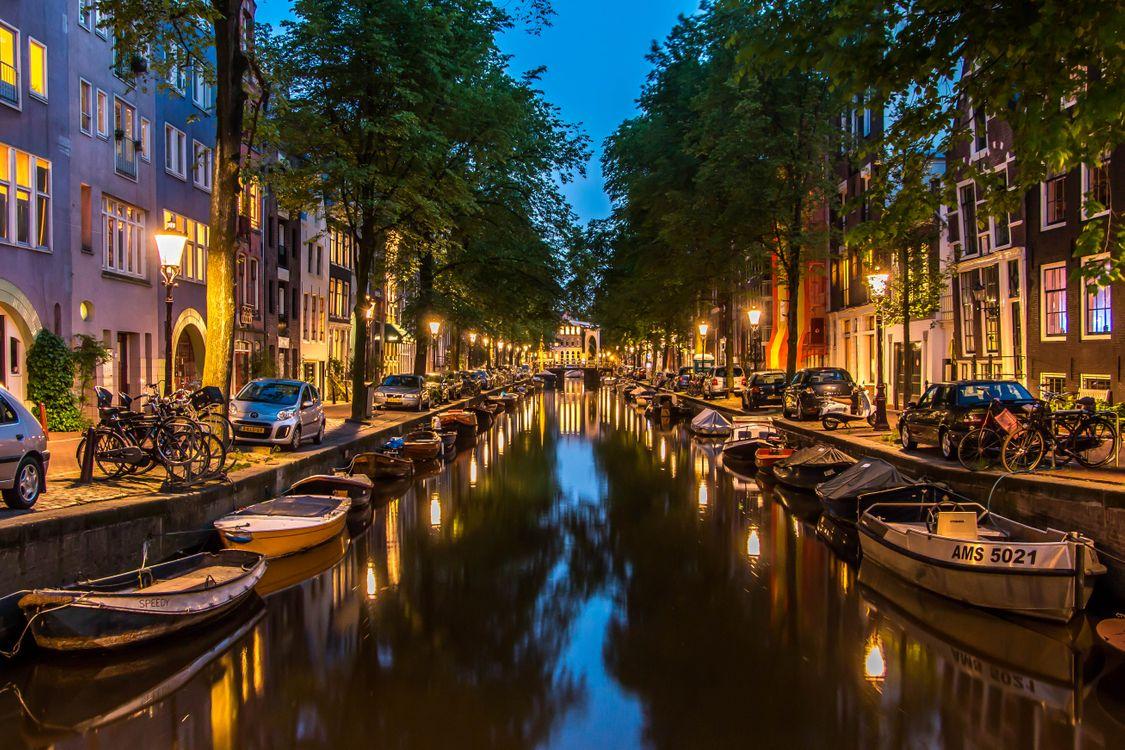 Улицы Амстердама · бесплатное фото