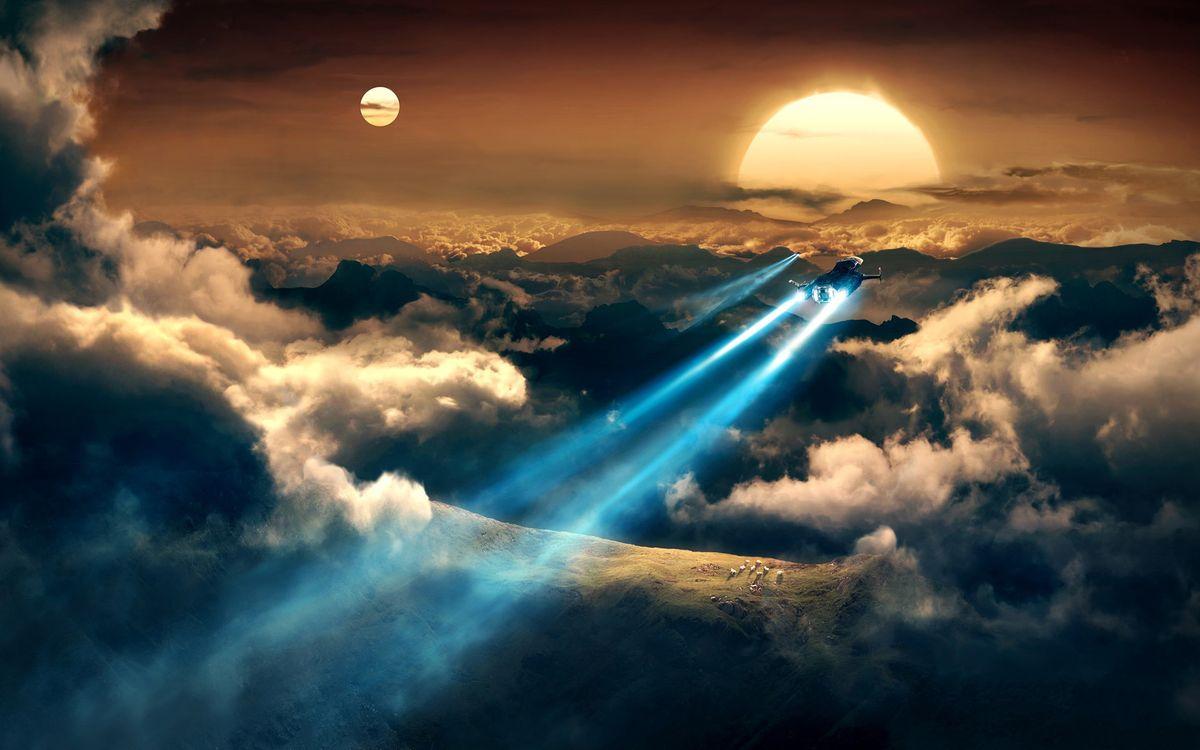 Космические корабли · бесплатное фото