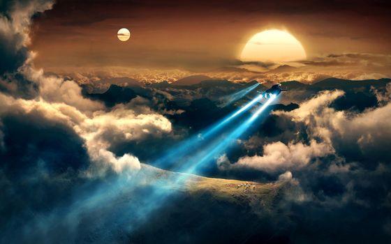 Spaceships · free photo