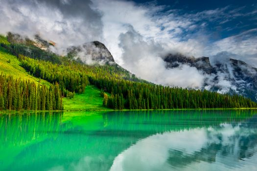 Photo free landscape, Yoho National Park, Emerald Lake