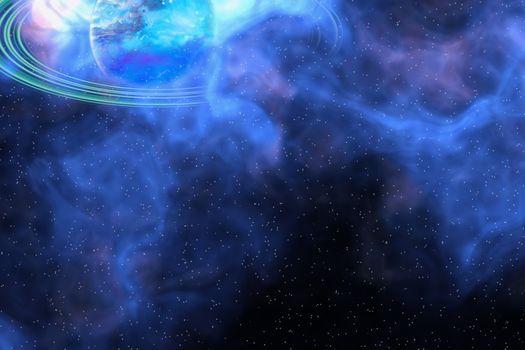 Фото бесплатно космическая абстракция, звездное свечение, абстракция