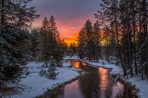 Фото бесплатно восход солнца, Айленд-Парк, штат Айдахо