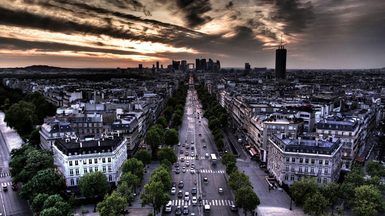 Фото бесплатно париж, городской пейзаж, франция - на рабочий стол