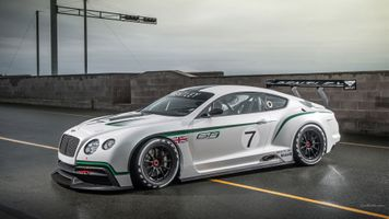 Photo free bentley continental gt3, bentley, silver cars