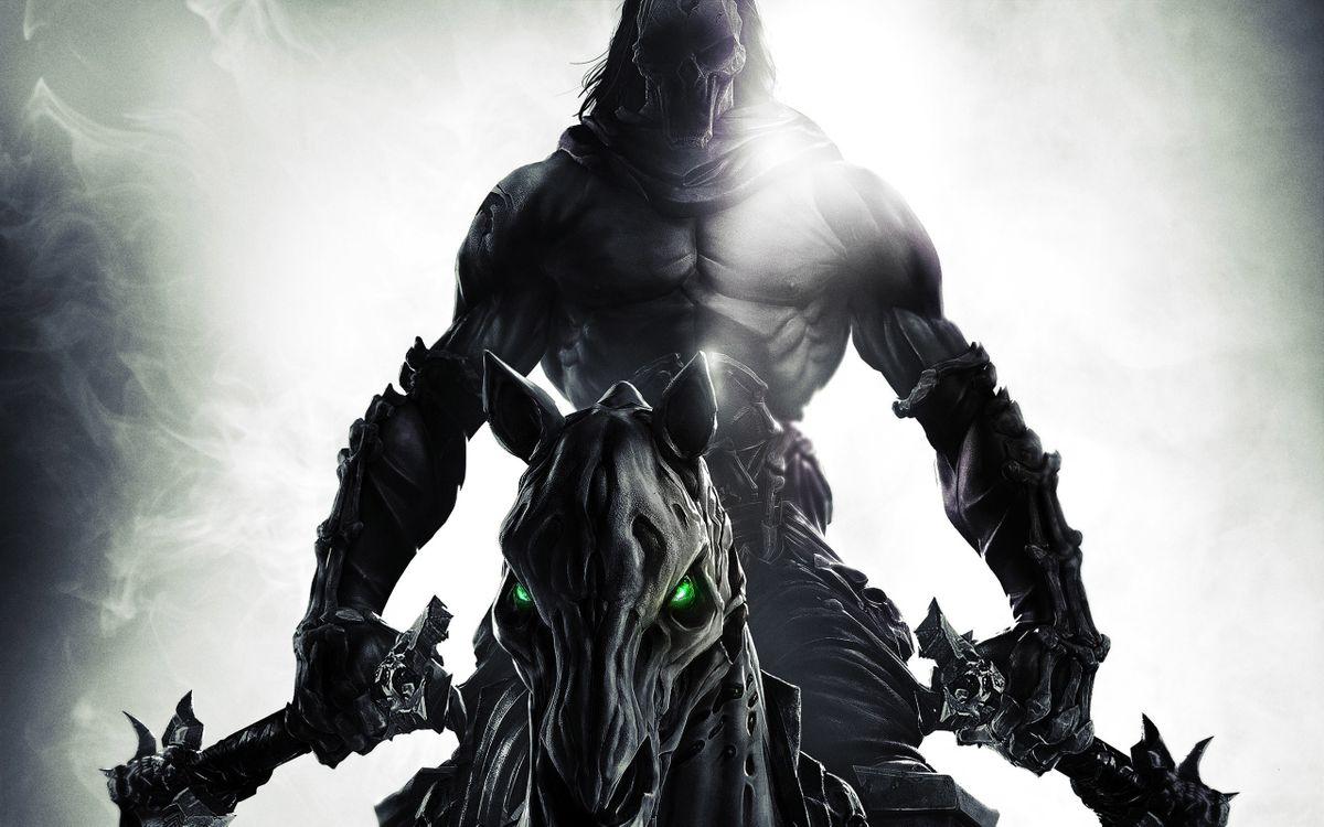 Фото бесплатно darksiders, darksiders 2, смерть, видеоигры, игры