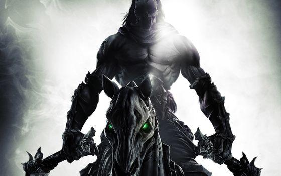 Бесплатные фото darksiders,darksiders 2,смерть,видеоигры
