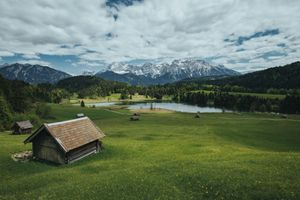 Фото бесплатно Альпы, Гармиш, Geroldsee