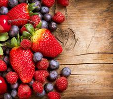 Фото бесплатно клубника, продукты питания, ягоды