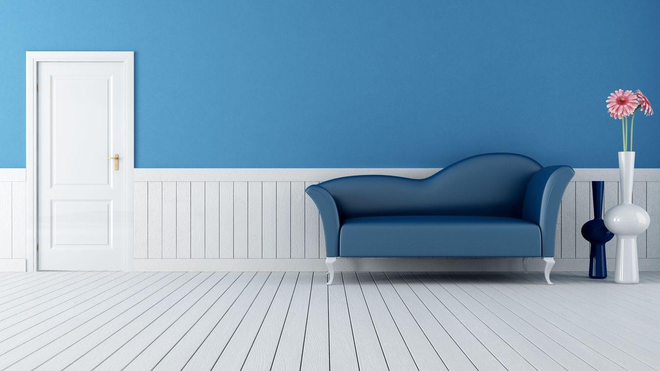 Фото бесплатно белая, чистая, комната - на рабочий стол