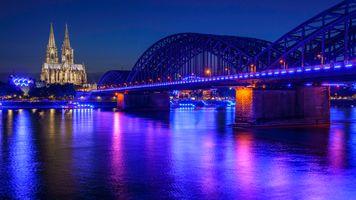Кёльн - панорама · бесплатное фото