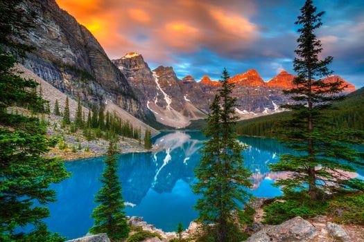 Фото бесплатно Канада, пейзаж, Альберта