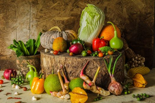 Vegetable still life · free photo