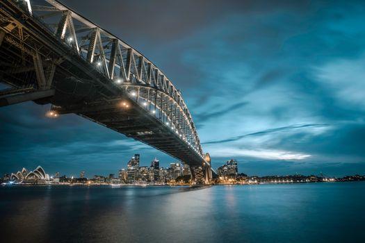 Big bridge in Sydney