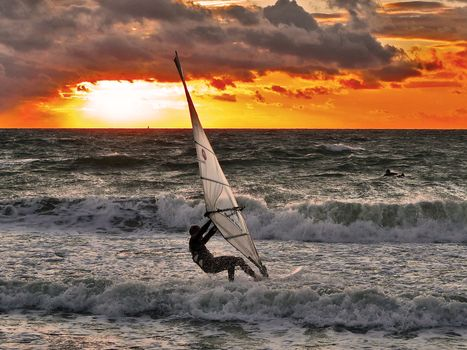 Photo free waves, Windsurfing, Board Windsurfing