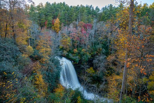 Photo free Dry Falls, North Carolina, autumn