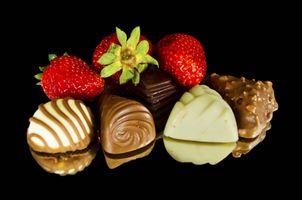 Фото бесплатно вкусные, спелые, валентинки