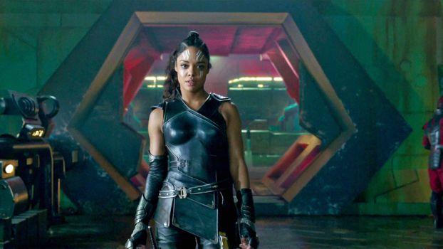 Фото бесплатно Кинематографическая вселенная Marvel, Тесса Томпсон, Тор: Рагнарок