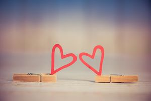 Фото бесплатно сердечки, люблю, валентинка