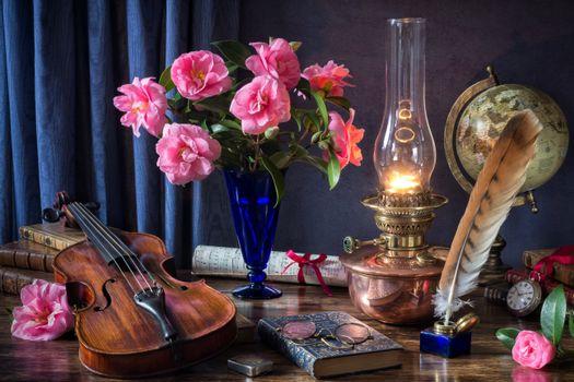 Фото бесплатно лампа масляная, лампа, антиквар