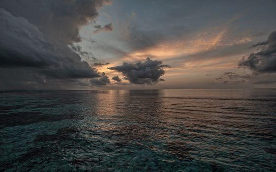 Фото бесплатно небо, море, мелководье
