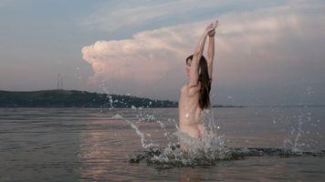 Бесплатные фото Недда,Жаклин,Тина,МИА ли,vivthomas,waterfun,показать вкусности
