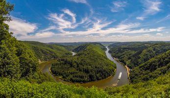 River Saar - Германия