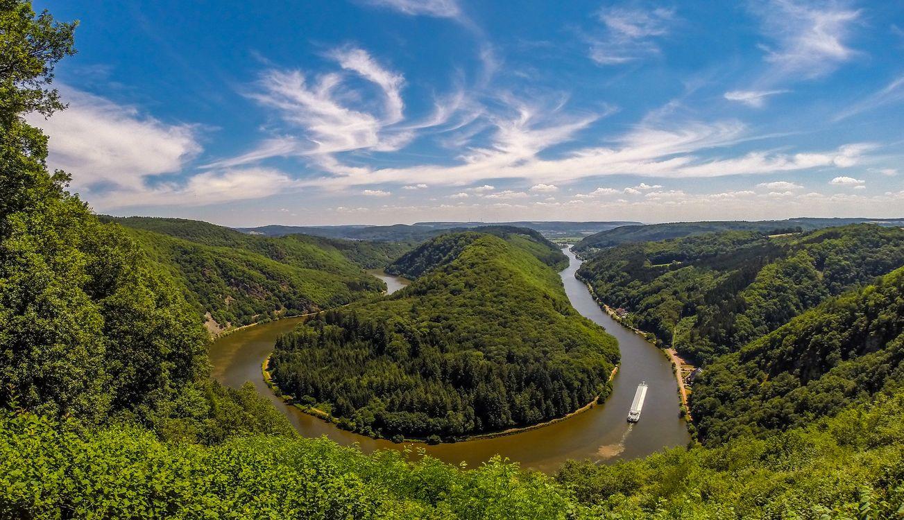 River Saar - Германия · бесплатное фото