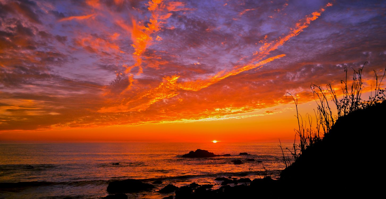 Фото бесплатно морской пейзаж, закат, небо - на рабочий стол