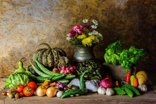 Flowers and Vegetables · free photo